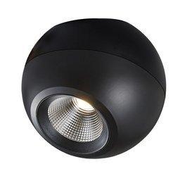 Mistic Lighting plafon (reflektorek) LED Madball 8,9W czarny MSTC-05411171
