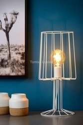 LOUIS Lampa stołowa biała 78575/50/31 Lucide
