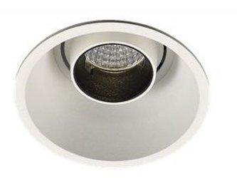 Mistic Lighting oczko stropowe Eyedo Deep 9W biały mat/czerń, 4000K 1135lm 48°, MSTC-05411331