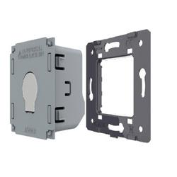 Moduł pojedynczego włącznika dotykowego impulsowego dzwonkowego pod FIBARO (WW-C701IH) LIVOLO