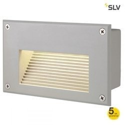BRICK LED DOWNUNDER do wbudowania, ścienna, prostokątna, srebrnoszara, 3000K LED