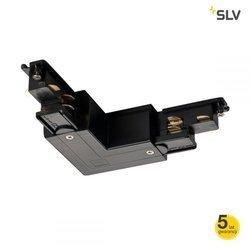 S-track łącznik  L   z uziemieniem wewnątrz (1002647) - SLV / Spotline