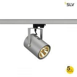 EURO SPOT LED, 20W COB LED, srebrnoszara, 36°, 3000K, 3f. adapter
