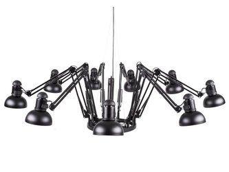 Lampa wisząca SPIDER-9 czarna 65 - 215 cm (ST-9233-9) Step into Design - żyrandol