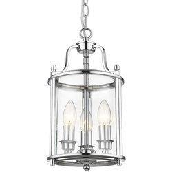 Lampa wisząca NEW YORK (P03427CH) Cosmo Light - żyrandol