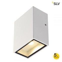 QUAD 1 XL ścienna, kwadratowa, biała, 3.2W COB LED, 3000K, IP44