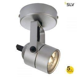 SPOT 79 230V ścienna/sufitowa, srebrnoszara, GU10, max.50W
