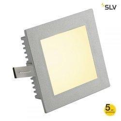 FLAT FRAME BASIC do wbudowania kwadratowa, srebrnoszara, G4, max. 20W