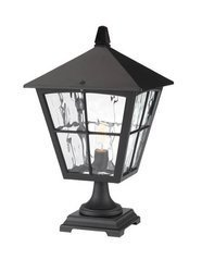 Lampa zewnętrzna, stojąca EDINBURGH kol. CZARNY (BL33/BLK) - Elstead Lighting