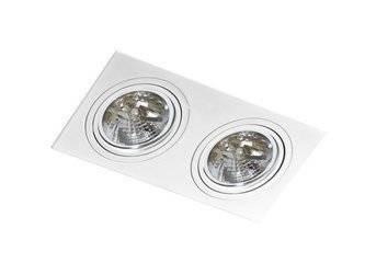 Lampa wpuszczana SIRO 2 white (AZ 0771 | GM22000-WH) - AZZARDO