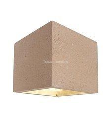 Kinkiet betonowy CUBE kol. beż (D341185)