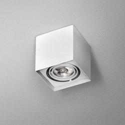 Lampa natynkowa SQUARES 50x1 LED 230V M930 36° Phase-Control natynkowy biały (40266-M930-F1-PH-03) Aqform