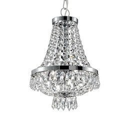 Lampa wisząca Caesar kol. chrom (114279) Ideal Lux - żyrandol
