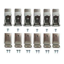Mistic Lighting zestaw montażowy Spring Kits 8 Panel LED 30x120 do montażu podtynkowego (uchwyt do GK) MSTC-05411941