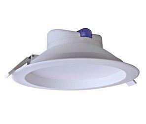 Mistic Lighting oprawa sufitowa łazienkowa LED Ecoeye 25W wpuszczana IP44 biały mat 3000K 2230lm, MSTC-05411311