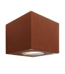 Kinkiet zewnętrzny Cubodo LED kol. brązowy (D730329)