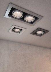 Lampa wpuszczana Metal Downlight (DL008-2-01-S) Maytoni