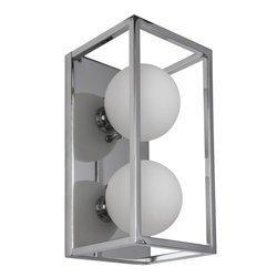 Kinkiet LED DAISY kol. chrom (MB-BR4367-W2 CH) ITALUX