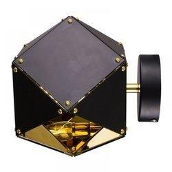 Lampa ścienna NEW GEOMETRY-1 czarno złota 15,5 cm (ST-8861-1) Step into Design