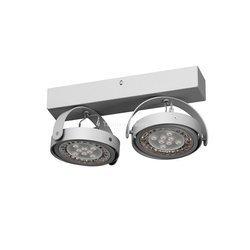 Lampa sufitowa Dedra kol. biały 2x15W (T026W2Sd117) Cleoni