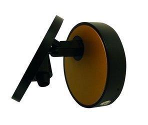 Mistic Lighting kinkiet Eclipse 5,8+2,6W czarny mat/złoty 3000K DIM (ściemnialny) MSTC-05411181