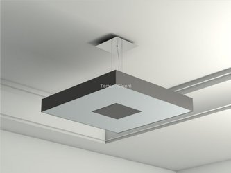 Lampa wisząca Vandura 280 (ZW102f1139W1) - Cleoni - żyrandol