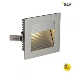 FRAME CURVE LED do wbudowania, kwadratowa, srebrnoszara, 3000K