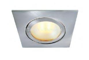 Reflektorek wbudowany / podszafkowy - kwadratowy, (2700K) ciepła biel (D920237)