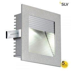 FRAME CURVE LED do wbudowania, kwadratowa, srebrnoszara, 4000K