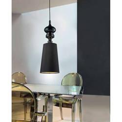 Lampa wisząca, żyrandol BAROCO czarny (AD7121-1-BK | AZ0064) Azzardo