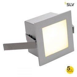 Lampa schodowa FRAME BASIC LED do wbudowania, kwadratowa, srebrnoszara, 3000K (111262) Spotline
