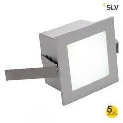 FRAME BASIC LED do wbudowania, kwadratowa, srebrnoszara, 4000K