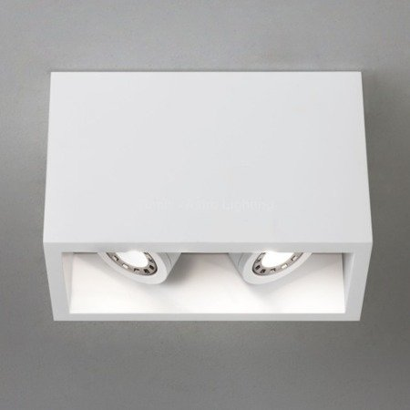 Plafon OSCA 140 ADJUSTABLE TWIN biały (5684 - Astro Lighting)